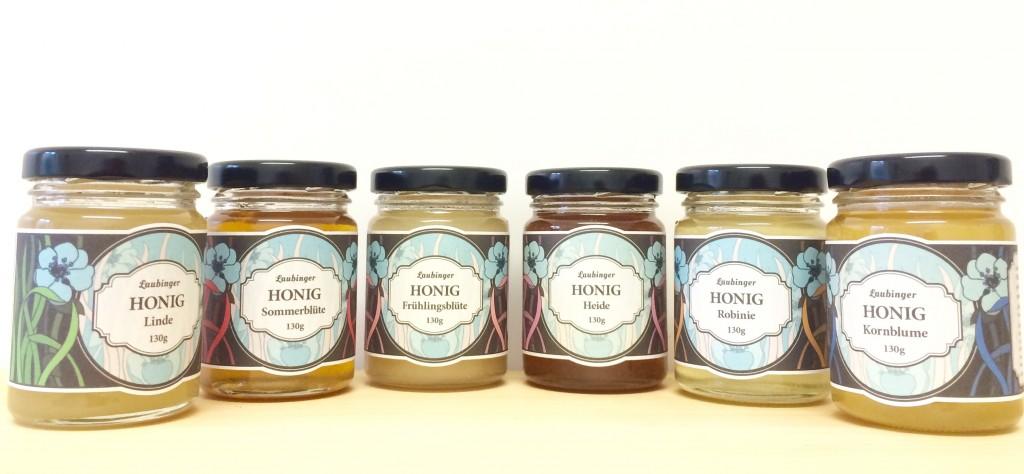 Honig Präsente aus Leipzig - Das 130 Gramm Glas von der Bioland Imkerei Laubinger